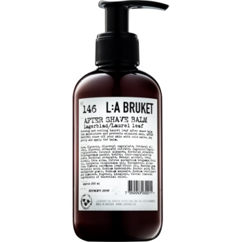 l:a bruket shave balsam aftershave