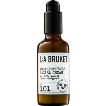 L:A Bruket Face crema hidratanta nutritiva cu extracte de morcov