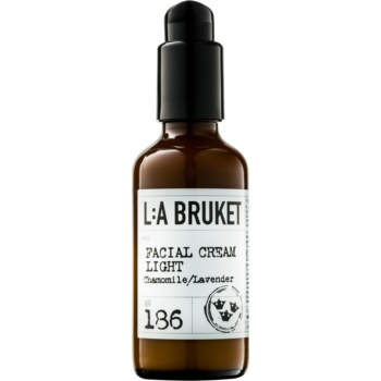 L:A Bruket Face crema de piele usoara cu lavanda si musetel