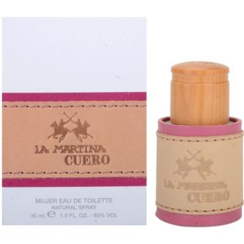 La Martina Cuero Mujer eau de toilette pentru femei 30 ml