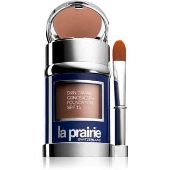 La Prairie Skin Caviar tekutý make-up odstín Honey Beige (SPF 15) 30 ml
