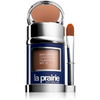 La Prairie Skin Caviar tekutý make-up odstín Golden Beige (SPF 15) 30 ml