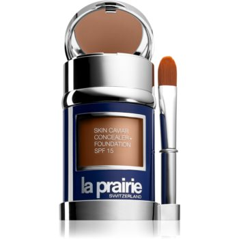 La Prairie Skin Caviar tekutý make-up odstín NW-50 Sunset Beige 30 ml