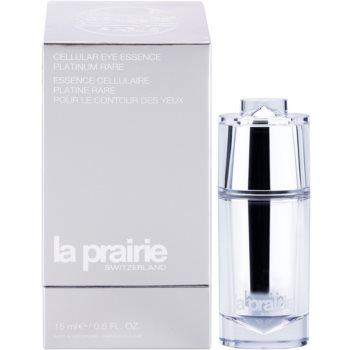 La Prairie Cellular Platinum Collection pomlajevalna nega za predel okoli oči za takojšnjo zgladitev gub 1