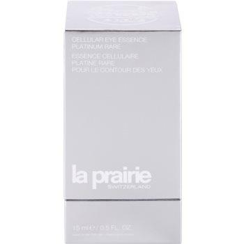 La Prairie Cellular Platinum Collection tratament pentru ochi de reintinerire pentru netezirea instantanee a ridurilor 2