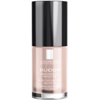 La Roche-Posay Silicium Color Care lak na nehty odstín 14 Pearly mavue 6 ml