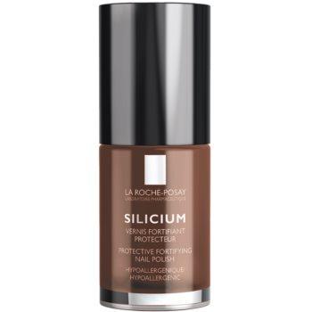 La Roche-Posay Silicium Color Care lak na nehty odstín 38 Chocolat 6 ml