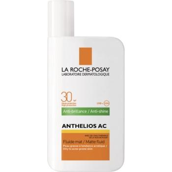 Fotografie La Roche-Posay Anthelios AC ochranný matující fluid na obličej SPF 30 50 ml