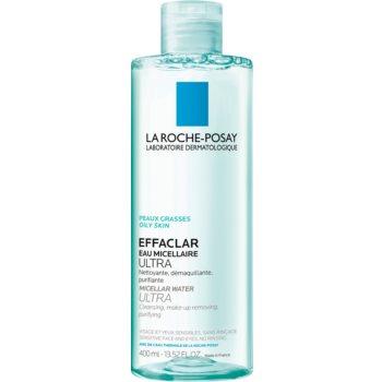 La Roche-Posay Effaclar Ultra apa pentru curatare cu particule micele pentru ten acneic