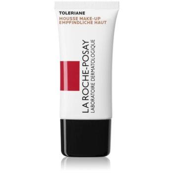 La Roche-Posay Toleriane Teint fond de ten spuma cu textura matifianta pentru ten mixt si gras culoare 03 Sand SPF 20  30 ml