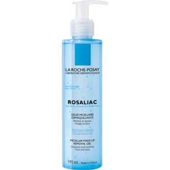 La Roche-Posay Rosaliac gel de curatare micelar pentru piele sensibila cu tendinte de inrosire
