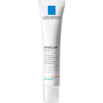 La Roche-Posay Effaclar DUO (+) Tonifiere unificatoare de îngrijire corectivă împotriva imperfecțiunilor pielii și urme de acnee