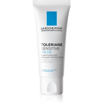 La Roche-Posay Toleriane Sensitive Rich cremă hidratantă cu prebiotice, pentru diminuarea sensibilității feței