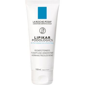 La Roche-Posay Lipikar Podologics crema de picioare pentru piele uscata