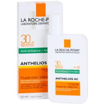 La Roche-Posay Anthelios AC ochronny fluid matujący do twarzy SPF 30 2