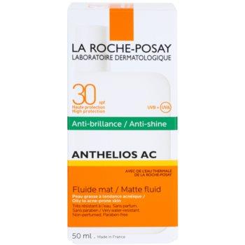 La Roche-Posay Anthelios AC ochronny fluid matujący do twarzy SPF 30 3