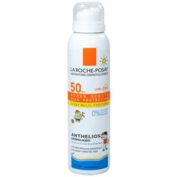 Fotografie La Roche-Posay Anthelios Dermo-Pediatrics ochranný sprej pro děti SPF 50+ 125 ml