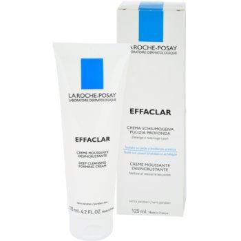 La Roche-Posay Effaclar crema de curatare sub forma de spuma pentru ten acneic
