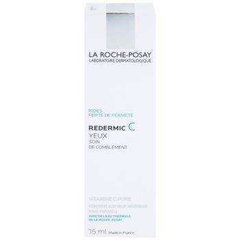 La Roche-Posay Redermic [C] околоочен крем против бръчки за чувствителна кожа на лицето 2