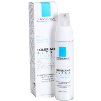 La Roche-Posay Toleriane Ultra Fluide intenzivna pomirjajoča nega za obraz in predel okoli oči 1