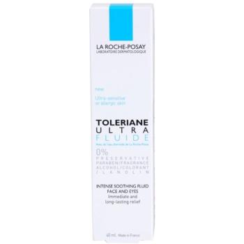 La Roche-Posay Toleriane Ultra Fluide intenzivna pomirjajoča nega za obraz in predel okoli oči 2