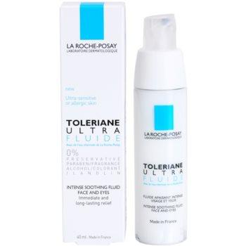 La Roche-Posay Toleriane Ultra Fluide intenzivna pomirjajoča nega za obraz in predel okoli oči 3