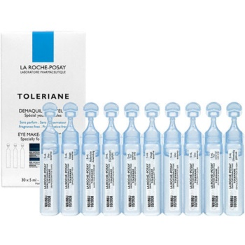 La Roche-Posay Toleriane demachiant pentru ochi pentru ten sensibil, cu probleme