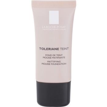 Fotografie La Roche-Posay Toleriane Teint zmatňující pěnový make-up pro smíšenou a mastnou pleť odstín 04 Golden Beige SPF 20 30 ml