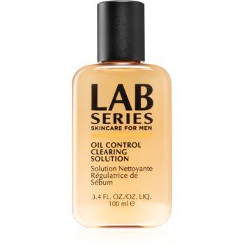Lab Series Oil Control Crearing Solution apa pentru curatarea tenului