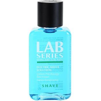Lab Series Shave концентрирана грижа бръснене с електрическа самобръсначка