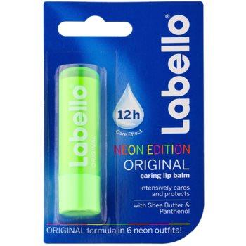 Labello Original Neon Edition bálsamo hidratante intensivo para labios  con manteca de karité