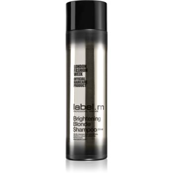 label.m Brightening Blonde Shampoo zum Schutz blonder Haarfarbe 250 ml