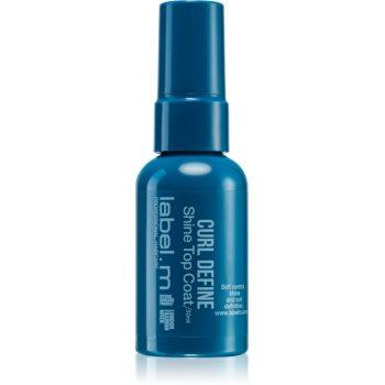 label.m Curl Define spray hidratant stralucire pentru parul ondulat si cret poza