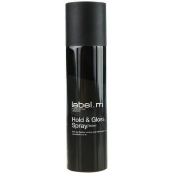 Fotografie label.m Complete lak na vlasy pro zpevnění a lesk 200 ml