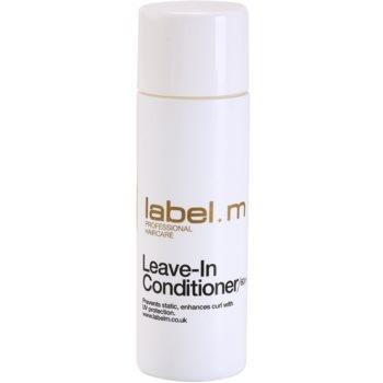 label.m Condition balsam (nu necesita clatire) pentru toate tipurile de par