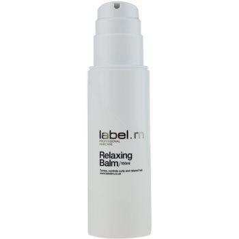 label.m Create balzám pro nepoddajné a krepatějící se vlasy 1