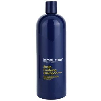 label.m Men sampon pentru curatare pentru par si scalp poza