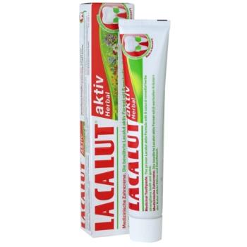 Lacalut Aktiv Herbal zobna pasta za krepitev zob in dlesni 1