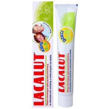 Lacalut Junior паста за зъби за периода на обмен на млечните зъби с постоянни 2