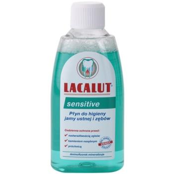 Fotografie Lacalut Sensitive ústní voda pro citlivé zuby 300 ml