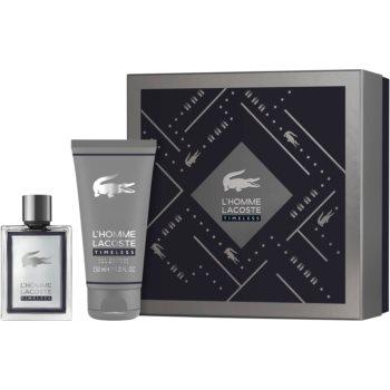 Lacoste L'Homme Lacoste toaletní voda pro muže 100 ml + sprchový gel pro muže 150 ml