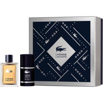 Lacoste L'Homme Lacoste EDT pro muže 50 ml + deostick pro muže 75 ml dárková sada