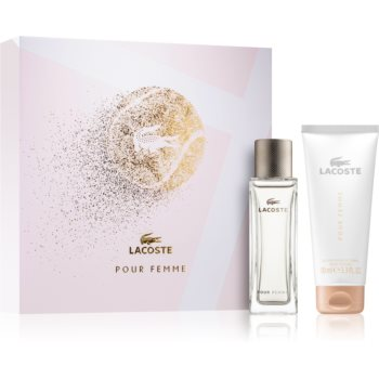 Lacoste Pour Femme parfémovaná voda 50 ml + parfémované tělové mléko 100 ml