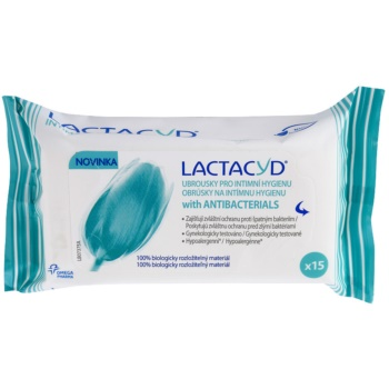 Lactacyd Pharma servetele umede si antibacterice pentru igiena intima