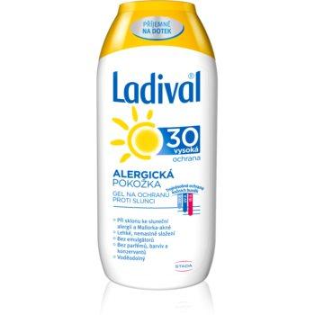 Ladival Allergic Lotiune protectie gel crema impotriva alergie la soare SPF 30