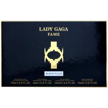 Lady Gaga Fame Black Fluid darilni set 2