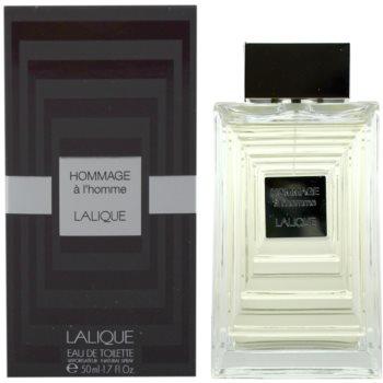 Lalique Hommage a LHomme Eau de Toilette pentru barbati 50 ml