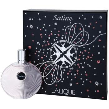 Image of Lalique Satine Gift Set I. Eau De Parfum 100 ml + Chain With Pendant