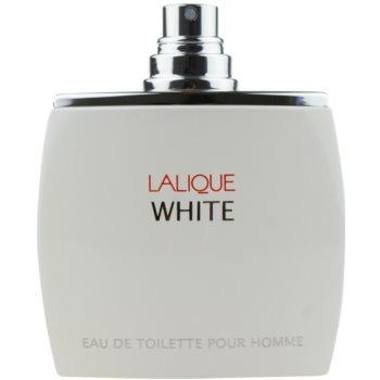 Lalique White toaletná voda tester pre mužov