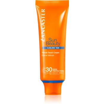 Fotografie Lancaster Sun Beauty opalovací krém na obličej SPF 30 50 ml